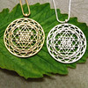 Sri Yantra pendant Silver plated necklaces & pendants for women Free shipping