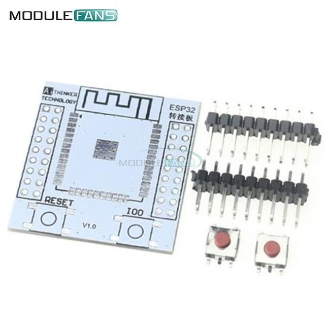 5Pcs ESP32 ESP32S Wireless WIFI Bluetooth Module For Arduino Adapter Board Support For ESP-32 ESP-32S Pinboard Convertor Module