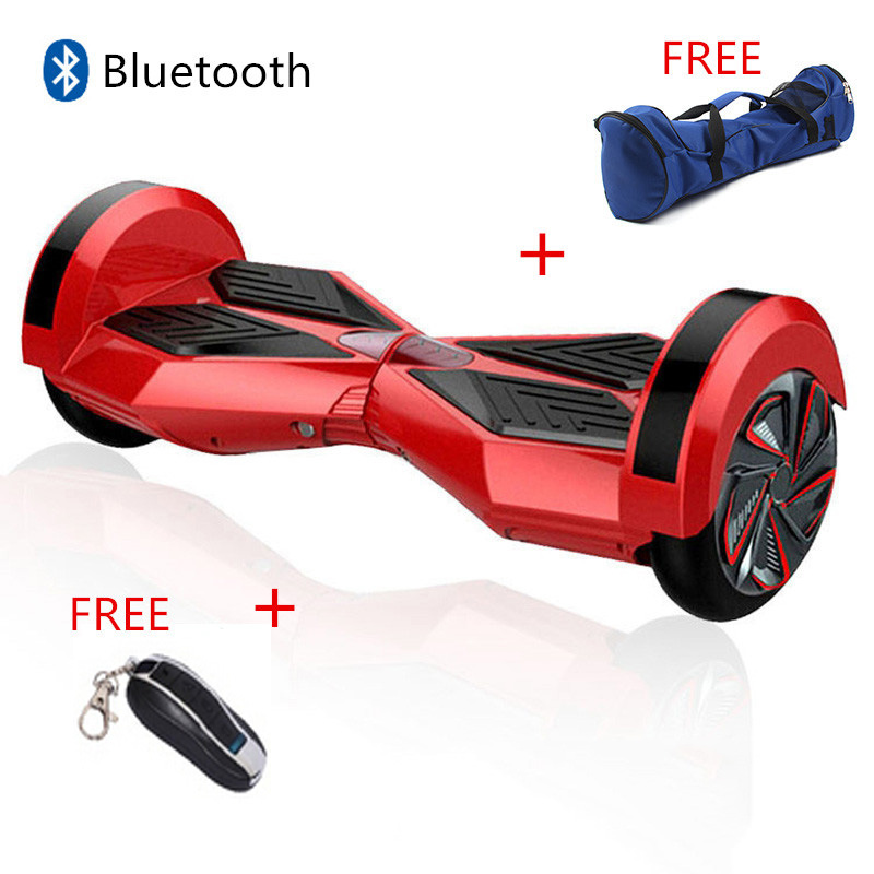 8 inch hoverboard bluetooth 2 wheel self balance electric scooters bluetooth hover boards with. Black Bedroom Furniture Sets. Home Design Ideas