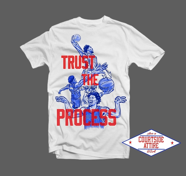 dead3ff38 Joel Embiid Trust The Process Shirt Mens-in T-Shirts from Men s ...