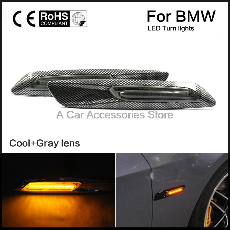 Led Fender Turn signal light Side Marker Light Fit For BMW E81 82 87 88 E90 91 92 93 E60 61