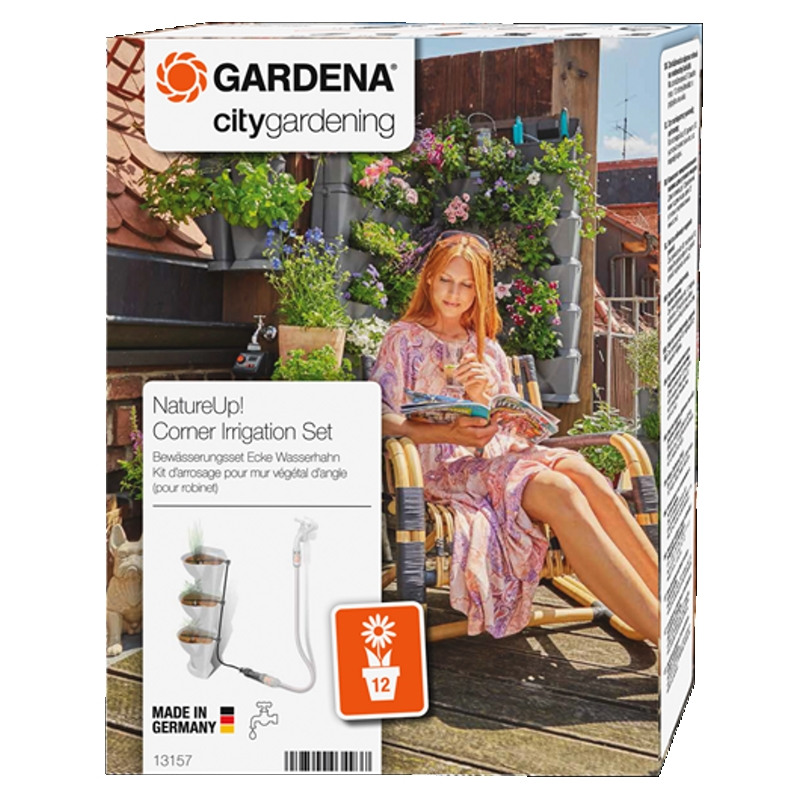 Watering System GARDENA 13157-20.000.00 (12 angle tanks Bundle: 1 master unit 1000, 1 tap shut 4.6mm (3/16 ″), 12 connectors 4.6mm, 10 connectors T-shaped 4.6mm) zndiy bry y 10 10mm y shaped air pneumatic quick fitting push in connectors blue black 10 pcs