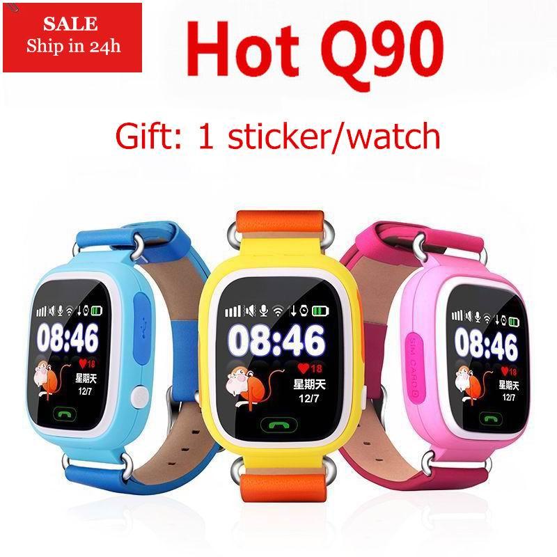 2018 Children Baby GPS Q90 Q50 Smart Watch SOS Call Location Finder Locator Device Tracker GPS Kid Safe Anti Lost Monitor q90 все цены