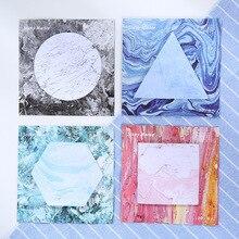 Творческий Геометрия Блокнот заметки memo Тетрадь Канцтовары, школьные принадлежности разместить его Блокнот papelaria Эсколар