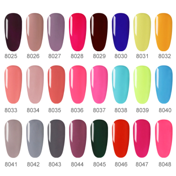 Nailwind Gel Nail Polish Pure Color Semi Permanent Base top Need UV LED lamp For Manicure Varnish Paint Hybrid ROSALIND nail gel 2