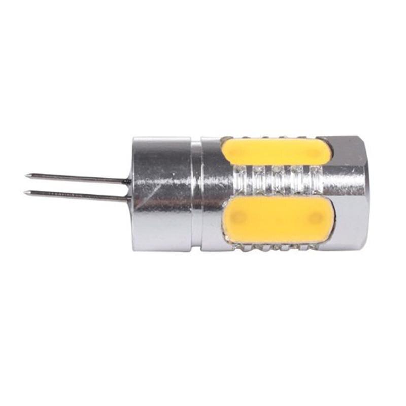G4 5W 12V SMD 5050 350-400LM 2800-3500K Warm White LED Light Lamp Bulb for Home Lighting e14 2 5w 100 lumen 7000k 12 smd 5050 led white light lamp bulb 230v