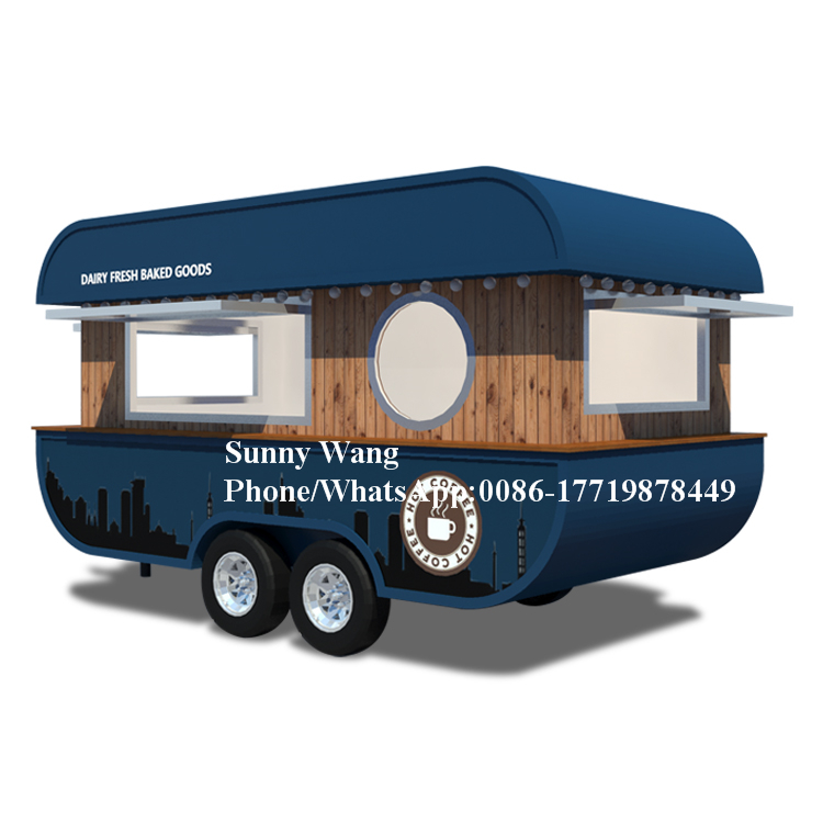Camion de restauration rapide de cuisine extérieure de nouveauté avec l'équipement de cuisson/camion de nourriture Mobile d'usine de la chine à vendre