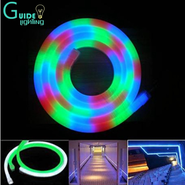 color change led neon light holiday decoration string of lights tube