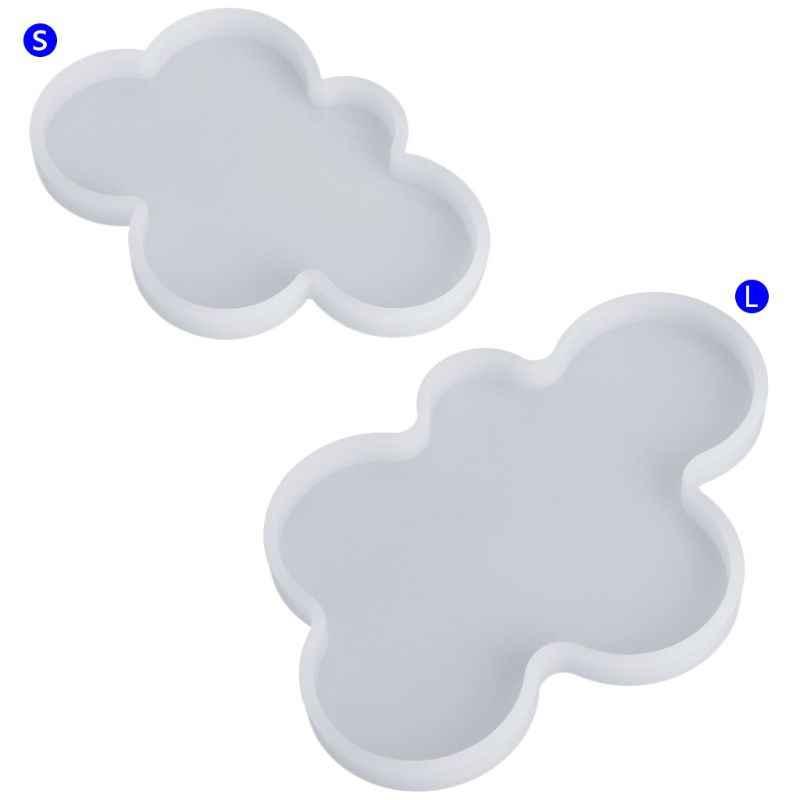 Силиконовая форма DIY ручной работы эпоксидная смола украшения ювелирные изделия изготовление Облако Форма S/L эпоксидная смола формы для ювелирных изделий