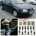 11 x Error Free White Interior LED Light Package Kit For vw golf 4 mk4 accessories reading Indoor lights