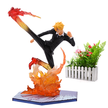Anime One Piece Luffy Zoro Sanji Shanks Sabo Boa Hancock PVC Action Figure Battle Ver Great Collectible Model Gift Toy statue one piece seven warlords of the sea boa hancock bust pirates female emperor gk action figure collectible model toy d720