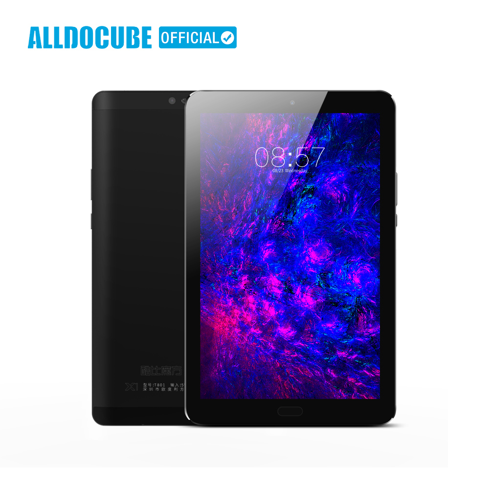 ALLDOCUBE X1 4G di Chiamata di Telefono Tablet PC Da 8.4 Pollici 2560*1600 IPS MTK X20 Deca core Android 7.1 4 GB di RAM 64 GB ROM 13MP GPS di Impronte Digitali