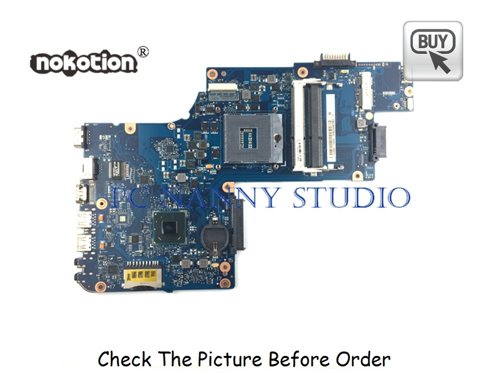 PANANNY H000050950 For Toshiba Satellite L850 C850 Laptop Motherboard HM70 DDR3 tested image