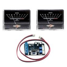 2pcs TN90 Denon VU Meter DB Level Header Audio Power Amp Backlight  w/backlight & 1pcs TA7318P Driver Board цена и фото