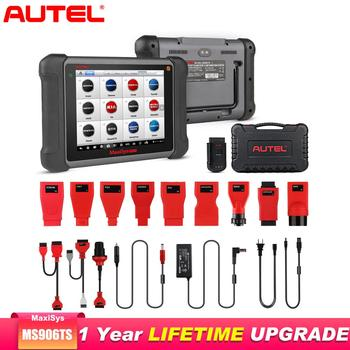 Autel MaxiSys MS906TS OBD2 Scanner Diagnostic Tool All Systems TPMS programming tool  ECU Coding OE-level Batter Than launch x43
