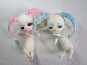 stenzhorn     Dz doll bjd Luts rain naked child Soom FL sheep