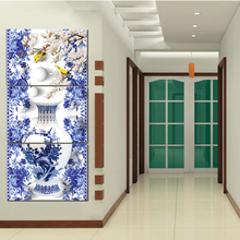 buy porcelain wall decor flower and get free shipping on aliexpress com