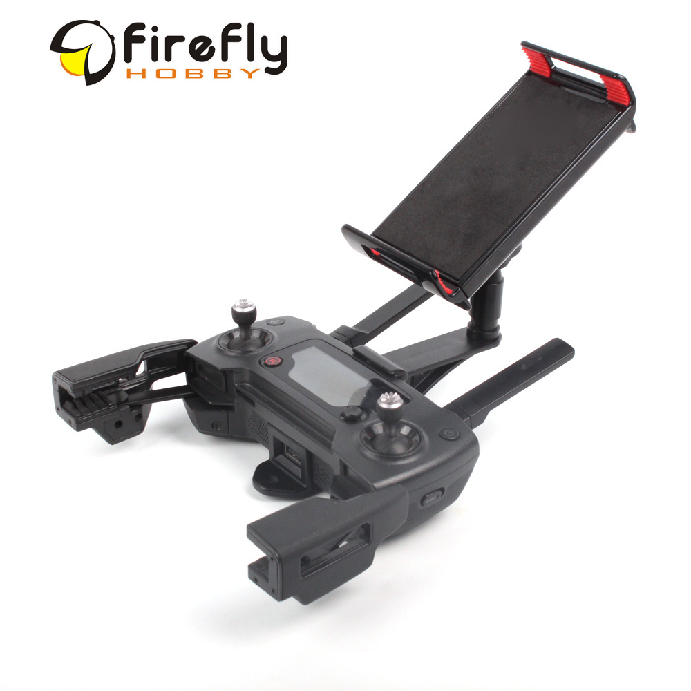 Smartphone Tablet Support Stand Monitor Mount Holder Controller Clamp for DJI SPARK & MAVIC AIR & MAVIC PRO pgytech tablet mavic 2 mavic air mavic pro controller holder dji mavic 2 pro zoom dji spark remote control monitor accessory