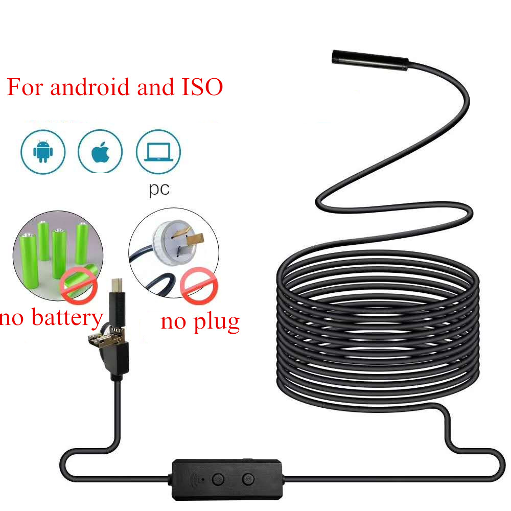 8MM 2MP HD WIFI Endoscope For Android&ISO Smart Phone стоимость