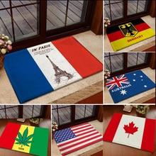 Новая Франция Эйфелева башня Канада Флаг Австралии Спальня ковры для чистки ковров, для дома напольные ковры коврики Гостиная 3D Кухня ковры в прихожую C28