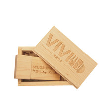 (over 10pcs free LOGO) Wooden usb+box USB Flash Drive pendrive 4gb 8GB 16G pen drive 32gb usb2.0 U disk photography wedding gift