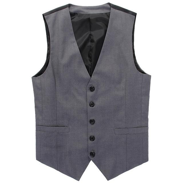 Venda quente 2016 de Alta Qualidade dos homens Vest Beckham Mesmo Parágrafo Colete Casuais Terno colete colete