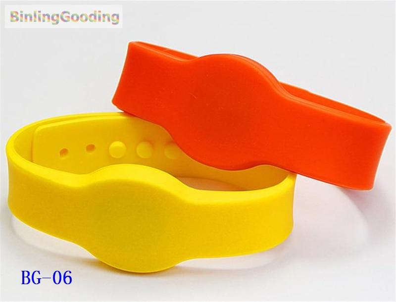 BG-06 100PCS/LOT UHF Alien H3 RFID Wristband Bracelet 1000pcs long range rfid plastic seal tag alien h3 used for waste bin management and gas jar management
