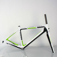 Outdoor Cycling Carbon Road Frame Model KQ RB106R 700C Logos Finish Fork Included Factory Outlets