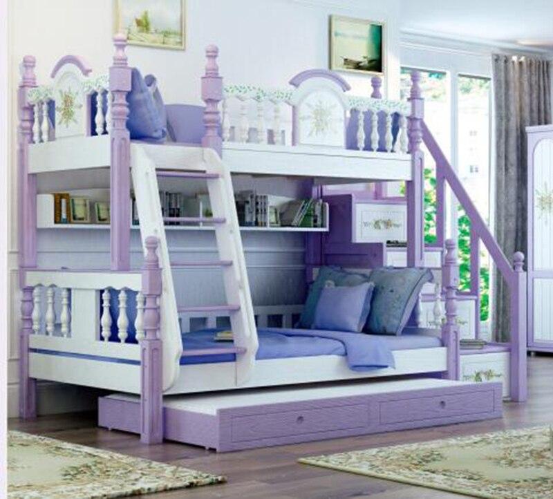 Foshan Modern Oak Wood Bunk Beds Kids Bedroom Furniture Sets For Boys Girls Bedroom Sets Aliexpress