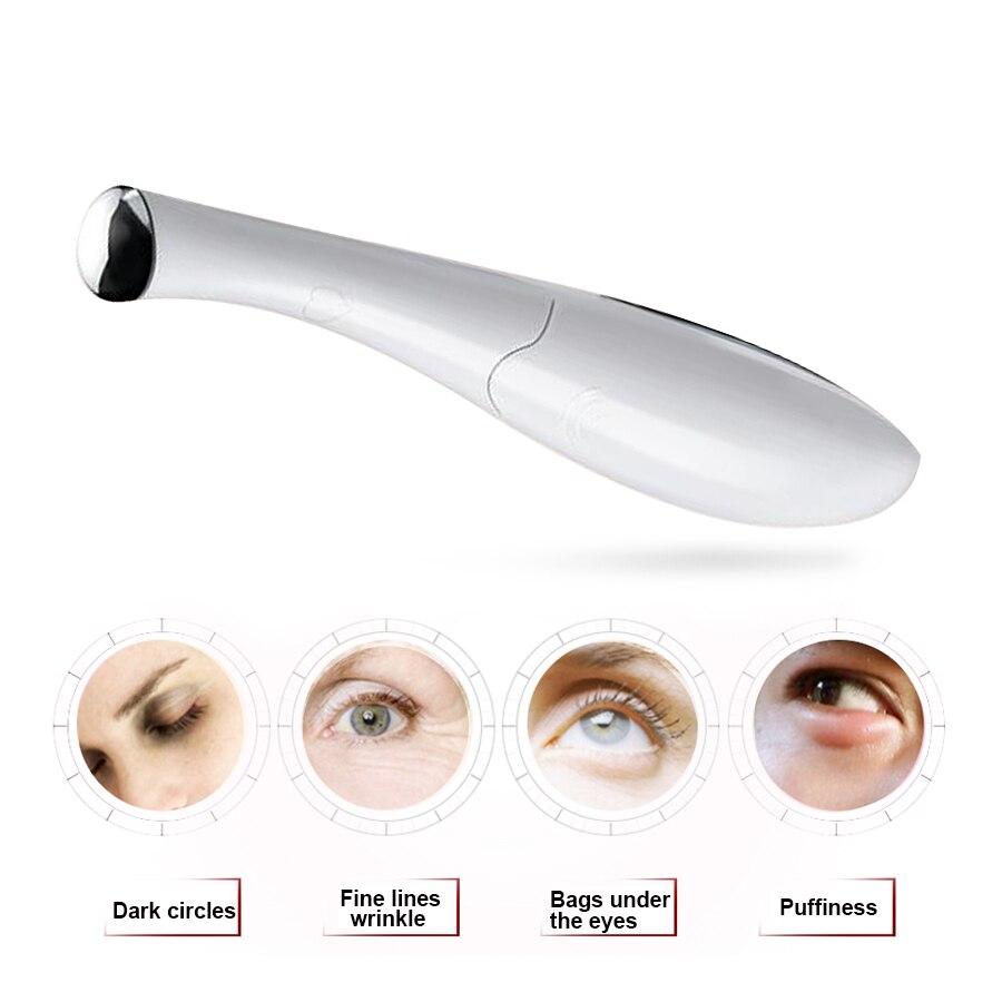 Электрический Вибрационный массаж глаз придерживаться тонкий Уход за кожей лица Anti-Aging подтяжки кожи вокруг глаз Красота Средства ухода за ...