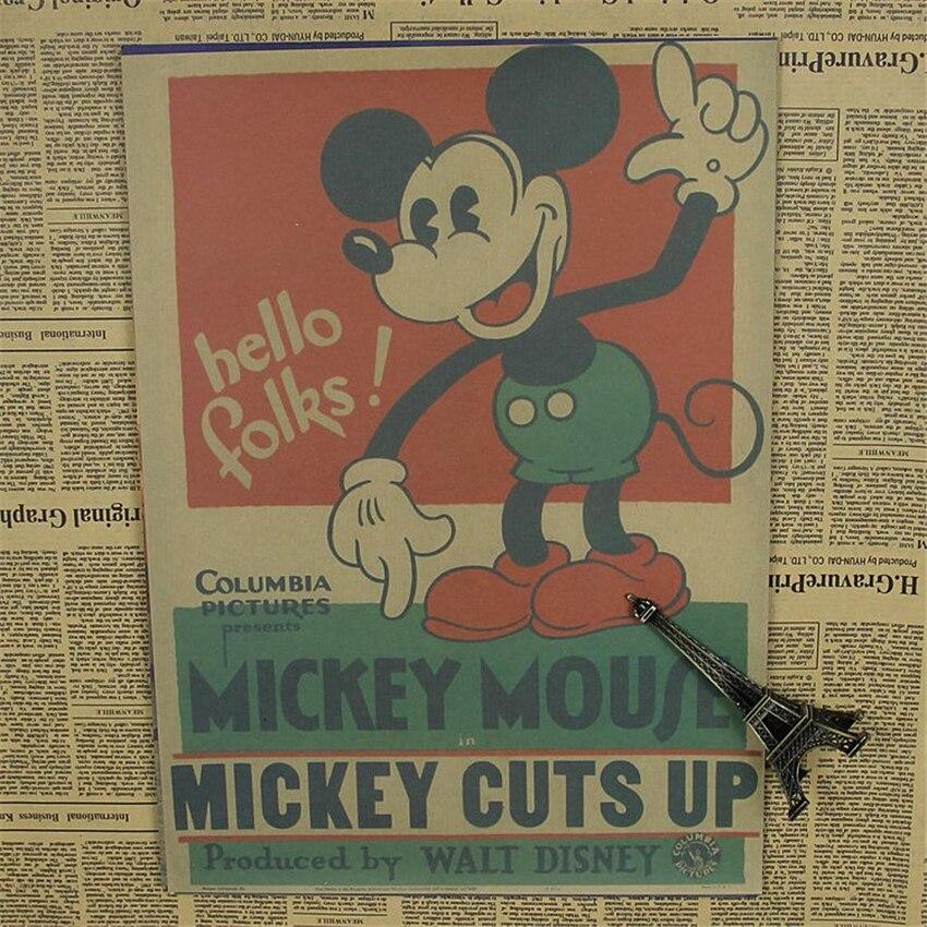 Promoción de Mickey Una Minnie Mouse Etiqueta De La Pared - Compra ...