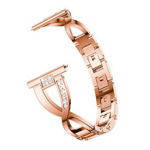 watch band Bracelet for Samsung Gear Sport S2 Band Stainless Steel Strap For Samsung Gear S2 Classic Luxury Bling Rhinestone new samsung gear s2 sport silver
