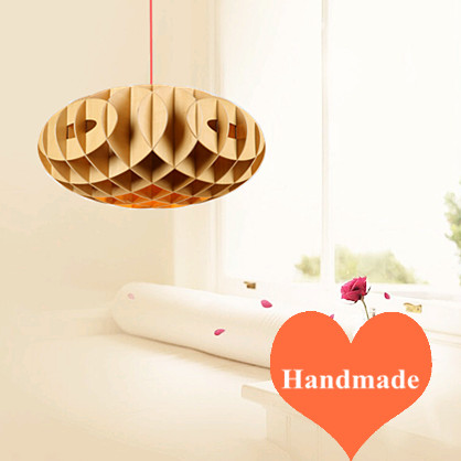 Creative novelty Ply-Wood chips Chandelier handmade E27 LED lamp indoor hang lamp for cafe&bar&porch&stairs&corridor BT259 2016 creative novelty blue shade ply wood chips chandelier e27 led floral lamp indoor lamp for stairs