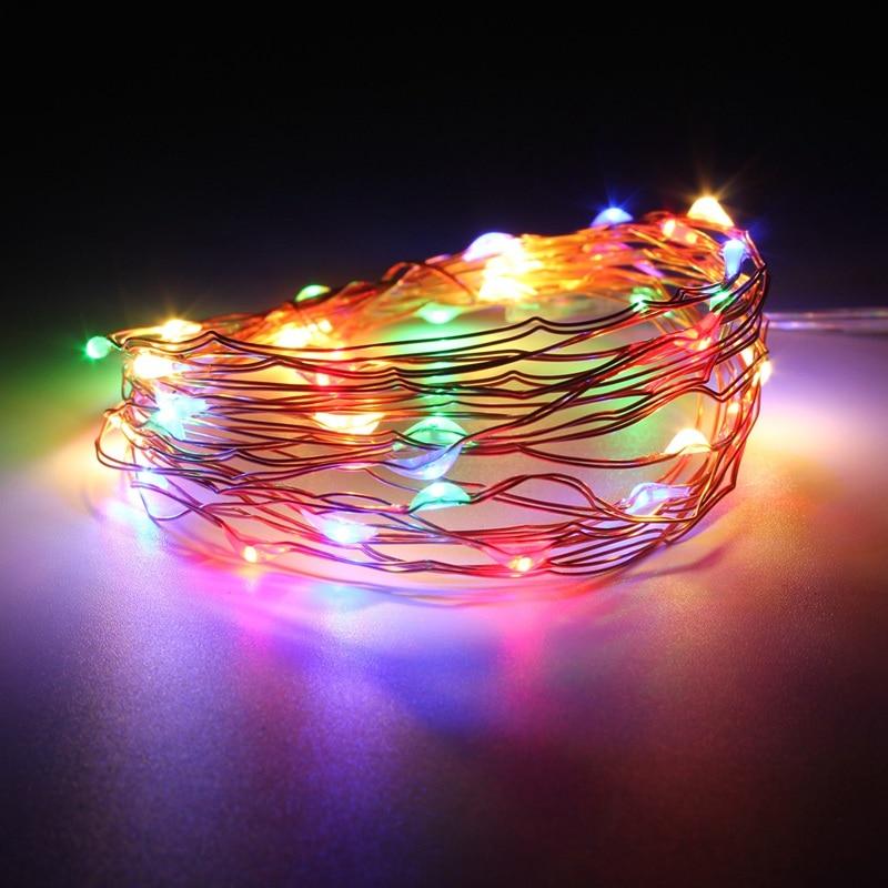 mising copper wire 4m 40 led string light christmas. Black Bedroom Furniture Sets. Home Design Ideas