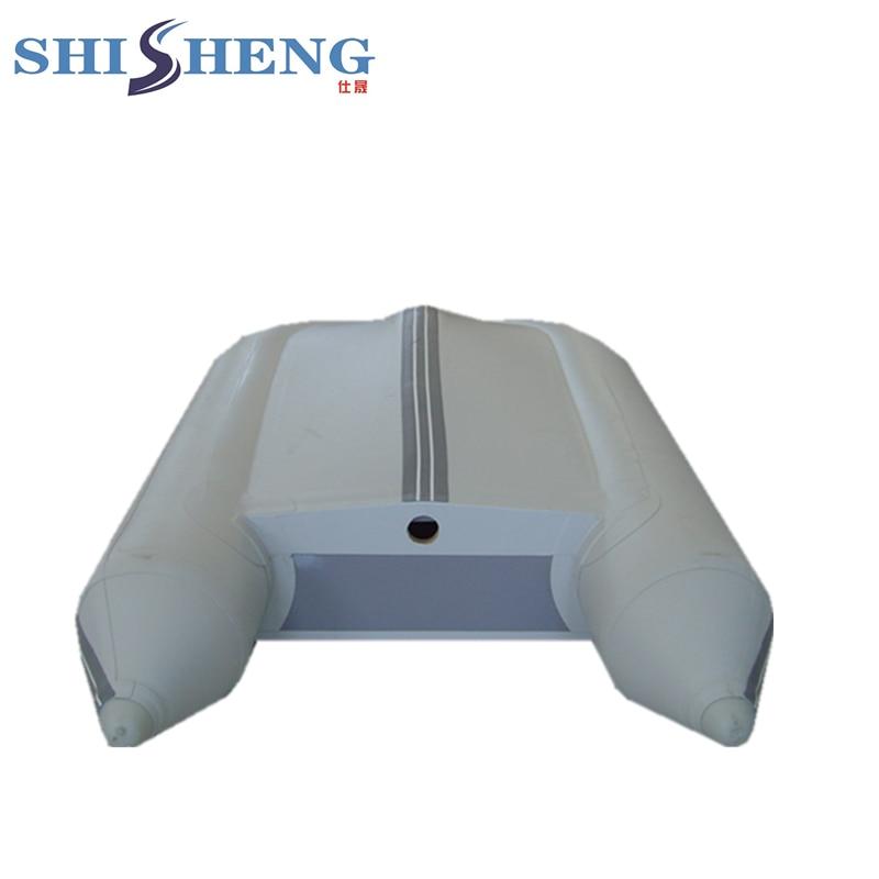 Mini bateau gonflable portatif petit bateau de ventre pour la pêche - 5