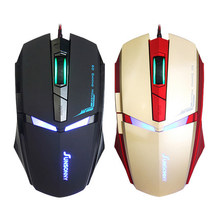 Professional Wired Gaming Mouse 6 Button 1600 DPI LED Optical USB Gamer Computer Mouse Mice Cable cs go lol Mouse High Quality