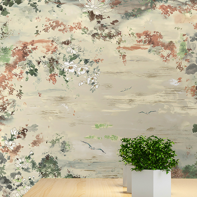 2017 Sale Papel De Parede Paysota Classical Chinese Ink Paintings Non-woven Wallpaper Living Room Bedroom Tv Setting Wall Paper  free shipping chinese ink classical retro wallpaper mural living room tv room wallpaper
