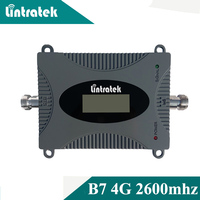 Lintratek New LCD Display 4g Signal Booster Band 7 4G Repeater Cellphone Repeater 70dB Signal Amplifier