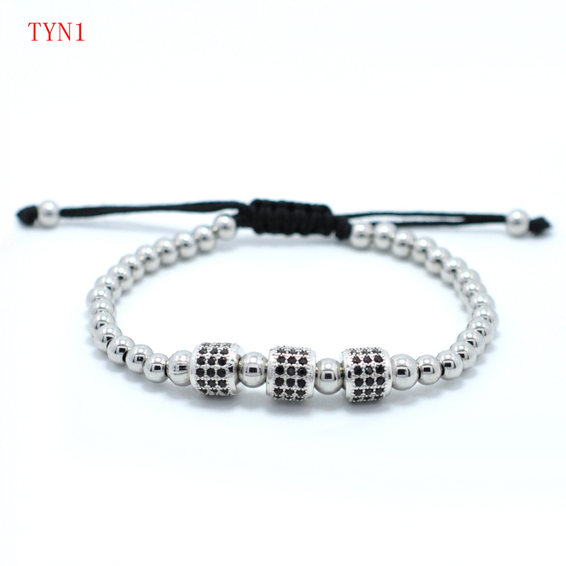 jewerly new arrive sliver rose color gold color jewerly gift for couple lady and man size TYN1