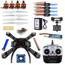 4-Axis Assembled RC Helicopter with QQ Super Flight Control+T8FB 8Ch Transmitter+11.1V 3300Mah 25C Battery F14893-A