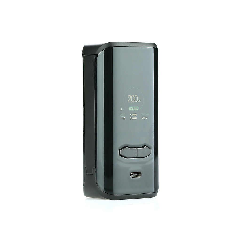Оригинальные электронные сигареты Augvape VX200 поле Mod Мощность по Двойной 18650 Батарея Vape испаритель VS перетащите 2/Luxe Nano/Luxe Mod