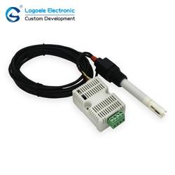 Moduł przemysłowy i kontroler RS485 4-20ma 0-10V EC jakość wody czujnik przewodności elektrycznej EC