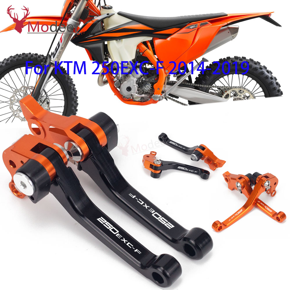 For KTM 250EXC-F 250 EXC-F 2014 2015 2016 2017 2018 2019 Motorcycle DirtBike Dirt Pit Bike Motocross Pivot Brake Clutch Lever