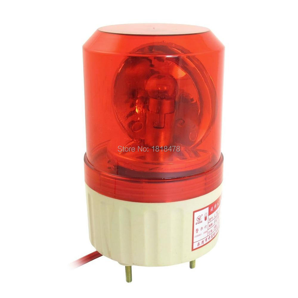 LTE-1081J AC110V AC220V DC12V DC24V Buzzer Sound Rotating Industrial Signal Warning Lamp Red