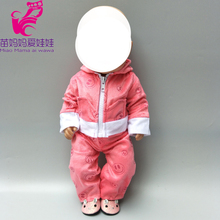 doll clothes set Fit 43cm Baby new Born Doll 18 inch accessories
