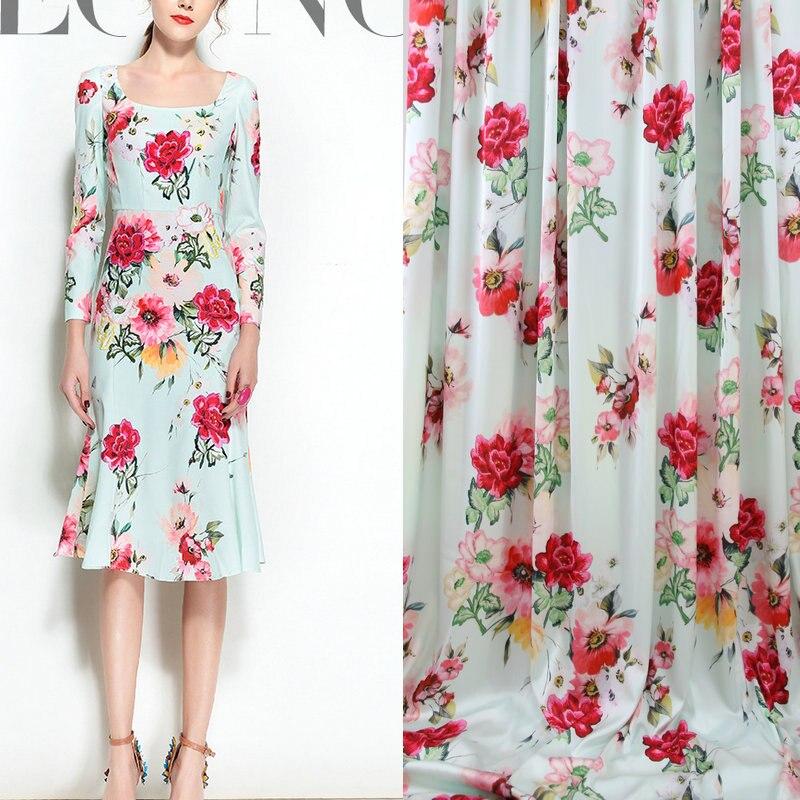 Aliexpress.com : Buy green color soft silk satin DIY ...