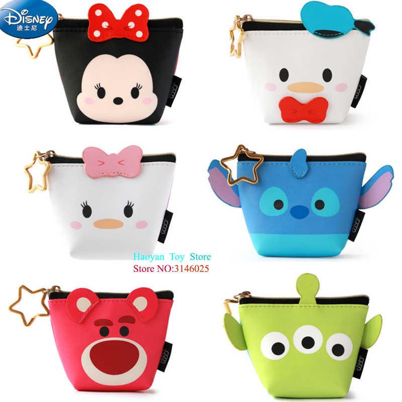6be65db75405 Genuine Disney Tsum Tsum Mickey Mouse Coin Wallet Toy Multi-functional  Kawaii Money Bag Cartoon
