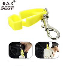 SCQP Stainless Steel Metal Belt Clip Glove Clip Protective Holder Safety Work Gloves Guard 2pcs