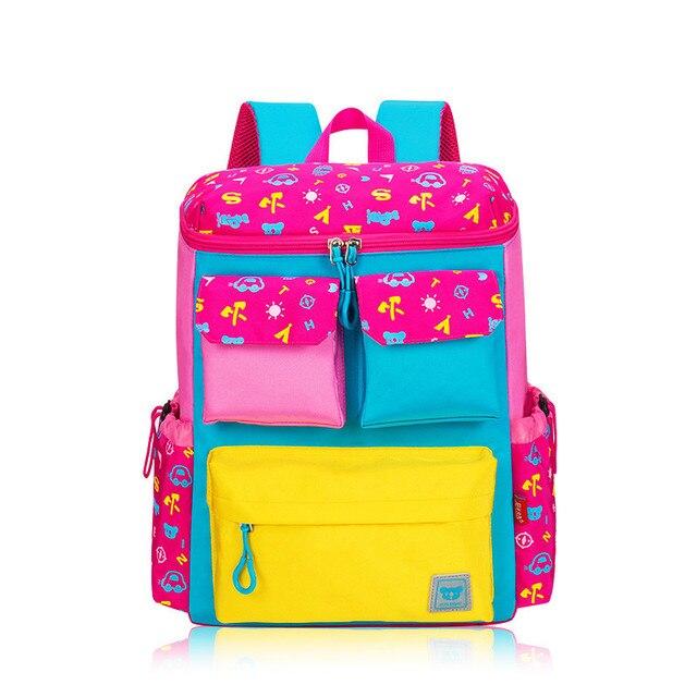 Школа рюкзак для девочек дети мешок школы девушка школьный bagpack mochila рюкзаки для девочек-подростков женщин печати рюкзак