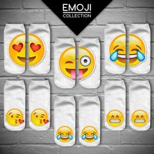 Женские носки и Колготки 3D Emoji